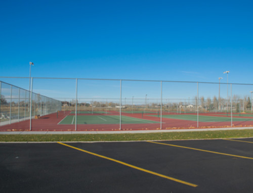 Tennis Courts at Community Fields